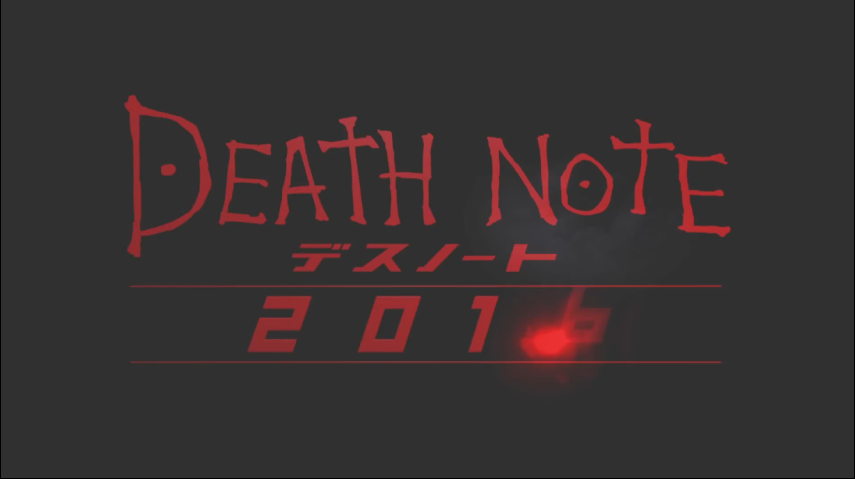 Death Note 2016 announcement