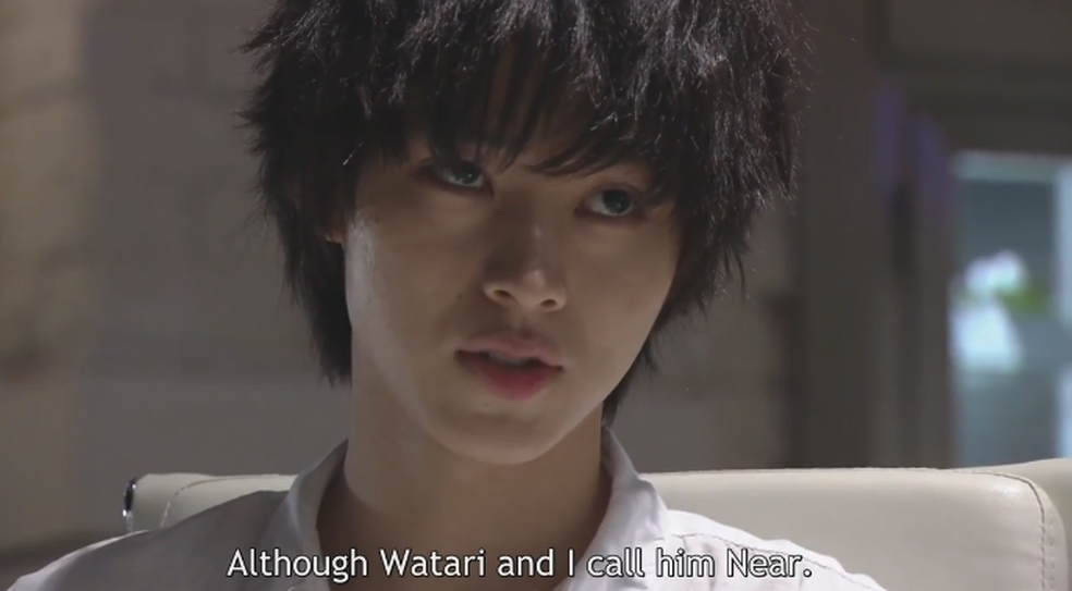 Watari and L call him Near