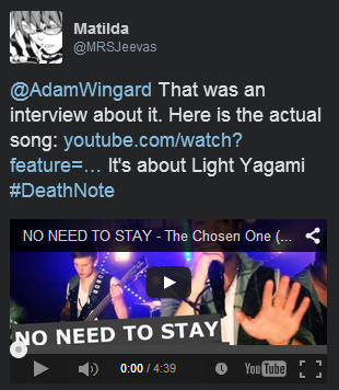 Death Note News Adam Wingard tweet
