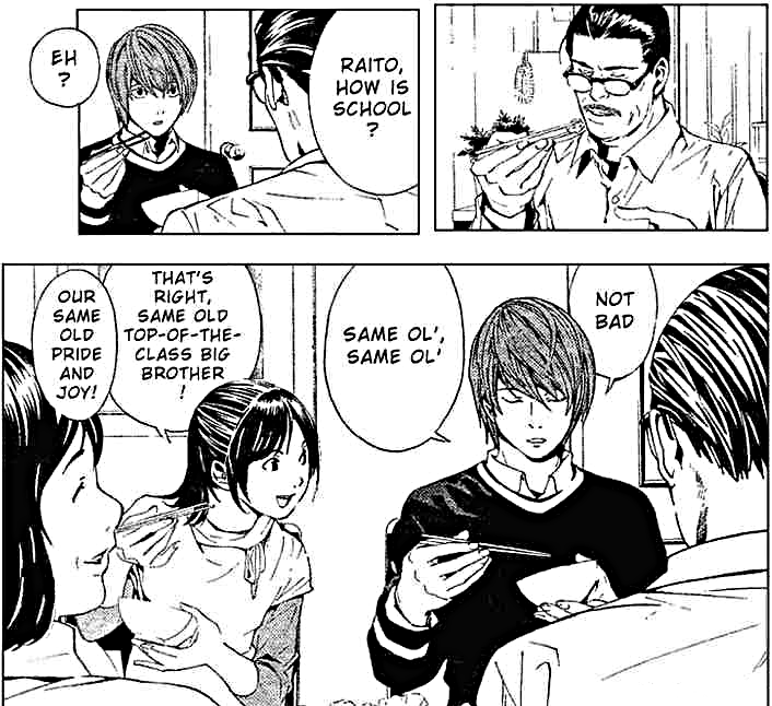 Death Note's Yagami Family