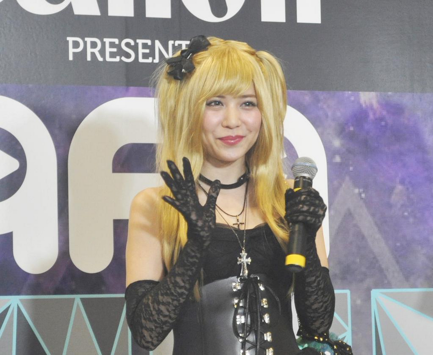 Image: AFA2014 Death Note the Musical promotion with Tomami Kasai
