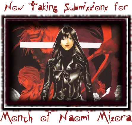 Death Note Month of Naomi Misora submissions call