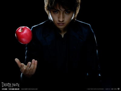 Kira in original Japanese live action movie Death Note