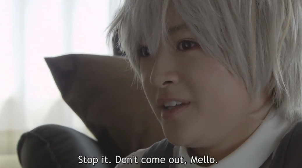 Death Note's Near begs Mello not to come out