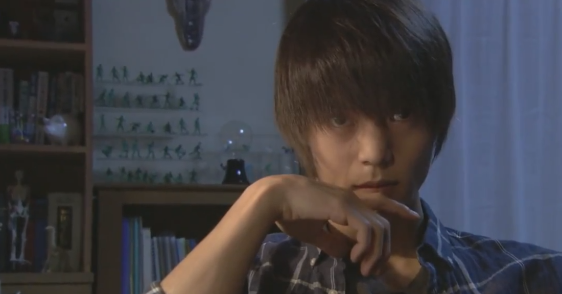 Light Yagami in Death Note TV live action drama 2015