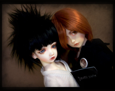 Ball Joint Death Note dolls by Maru-Light
