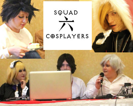 Squad Six Cosplayers Death Note cosplay