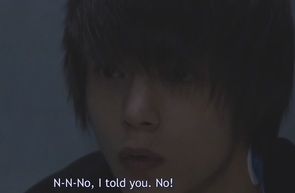 Light Yagami denies being Kira