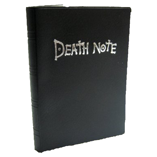 Image: Death Note reproduction notebook