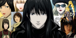 Death Note Women Collage