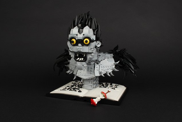 Death Note Lego Sculpture Ryuk by Neo's Bricks