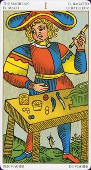 Major Arcana Magician card