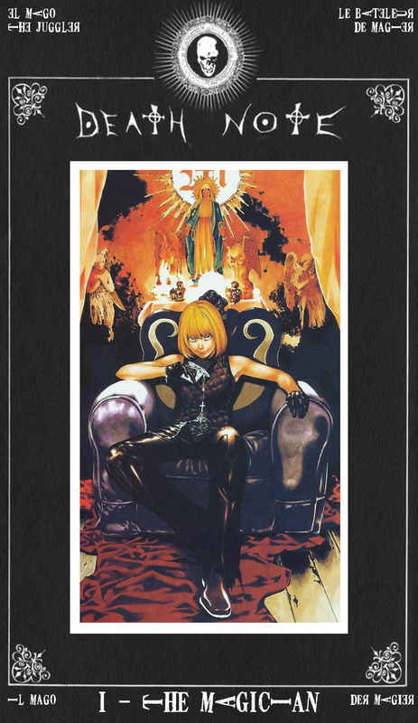 Mafia Mello Death Note Magician