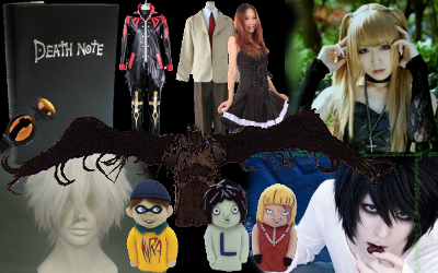 Cosplay Death Note costumes to buy