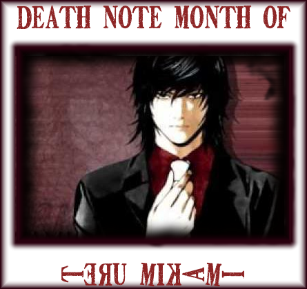 Month of Mikami on Death Note News