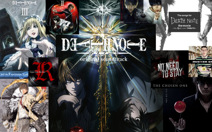 Death Note Music collage