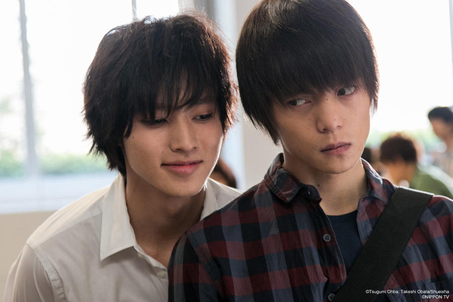 Death Note (2015) L and Light