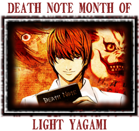 Death Note News Month of Light Yagami banner