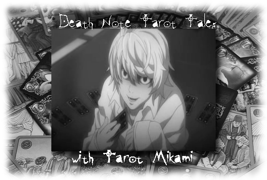Tarot Death Note News column banner