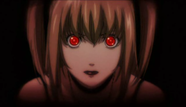 Misa Amane's shinigami eyes