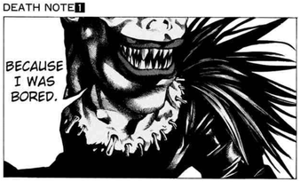 Death Note Ryuk Because I was Bored