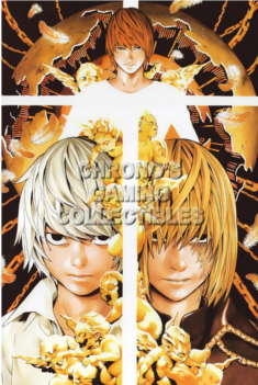 Large Death Note poster Mello, Near and Kira