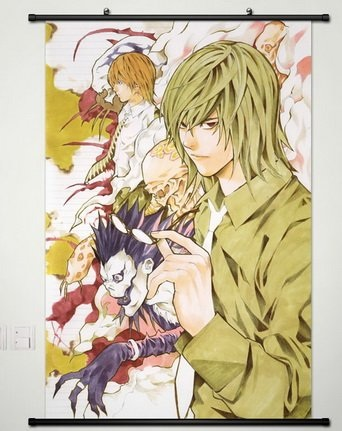 Mikami Teru, Light Yagami and Ryuk Wall Scroll Poster