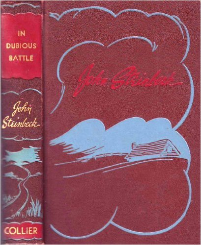 John Steinbeck In Dubious Battle 1936 cover