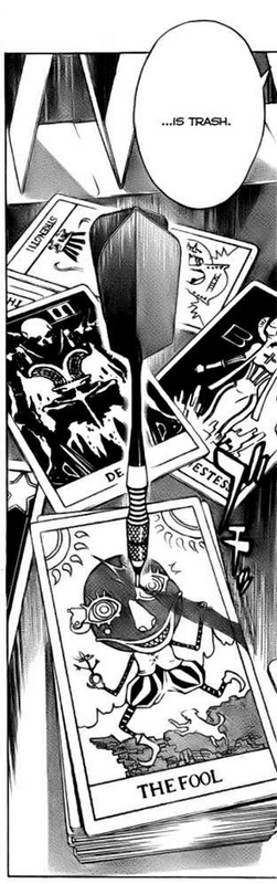 Death Note One-Shot Special C-Kira The Fool in Tarot