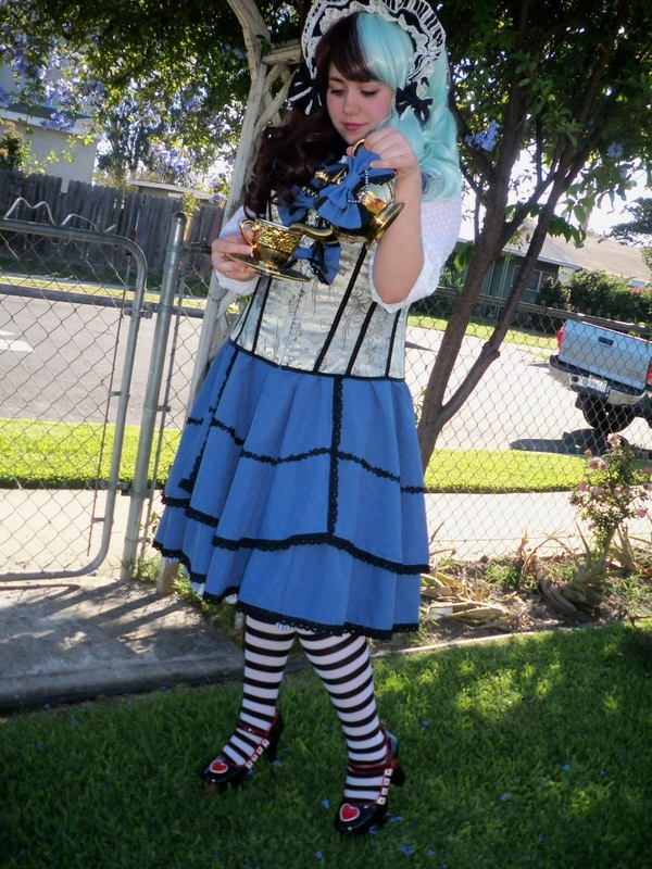 Mistress 9 as Lolita Alice in Wonderland