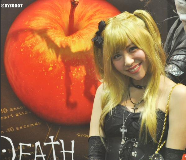 Image: AKB48's Tomomi Kasai in Death Note cosplay