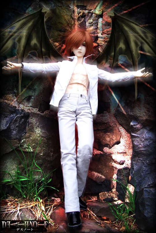 Death Note doll - God of this New World Maru-Light