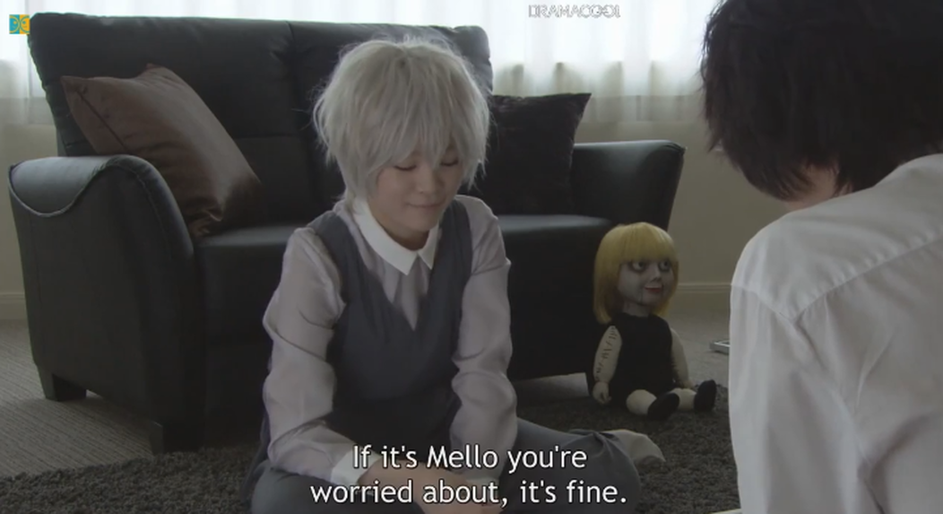 Death Note's Near dismisses L's worries about Mello