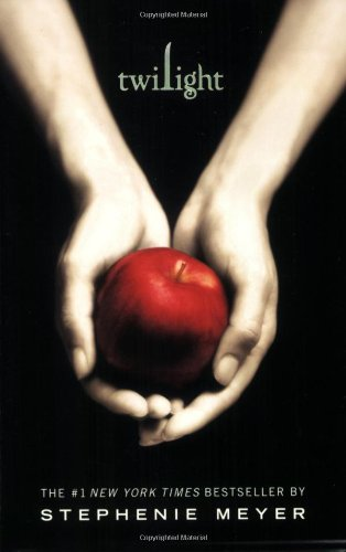 Twilight Saga One Cover with Apple