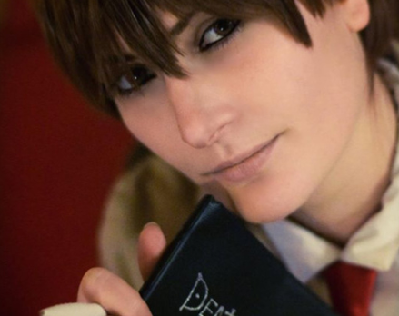 Kira Cosplay Lhinnor Kuro Death Note News