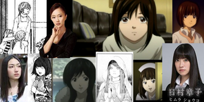 Death Note Women Collage 2