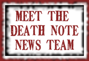 Death Note News categories banner