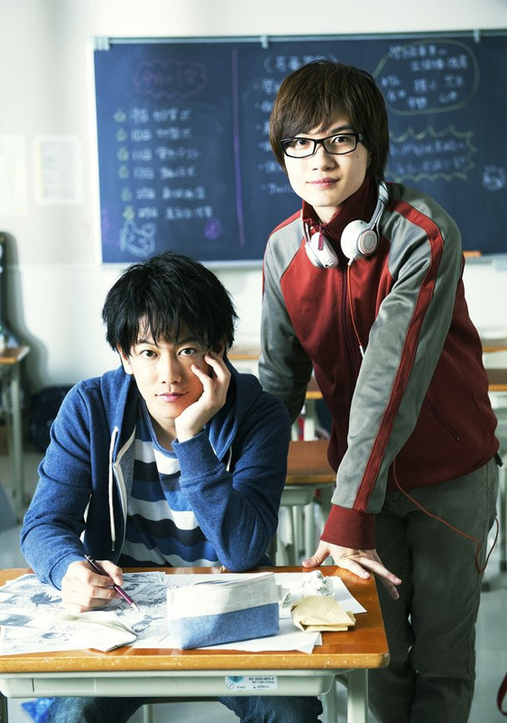 Kenshin Himura and Sōjirō Seta, Bakuman movie