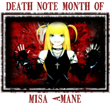 Misa Death Note Month