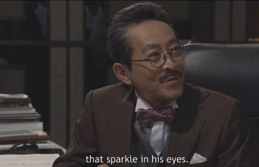 TV Death Note Watari talking about L