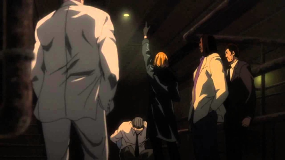 Death Note Mello and Mafia