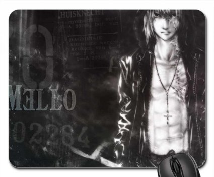 Stylish Mello Mousepad Death Note