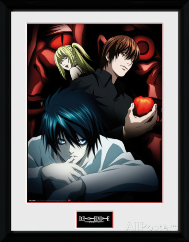 Death Note - Light, L and Misa (Collector Print)