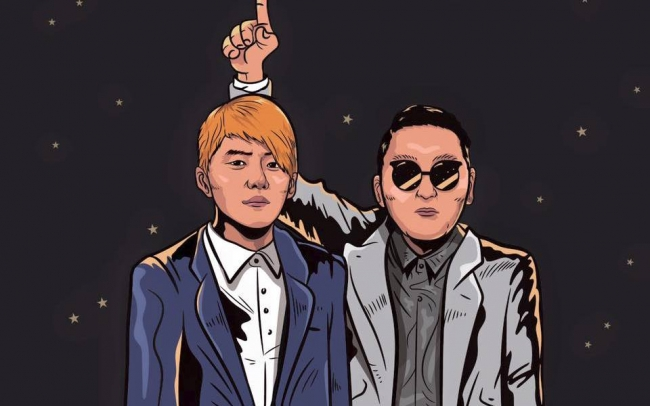 Kim Junsu and Psy record Dream
