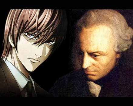 Death Note News: Light Yagami and Immanuel Kant