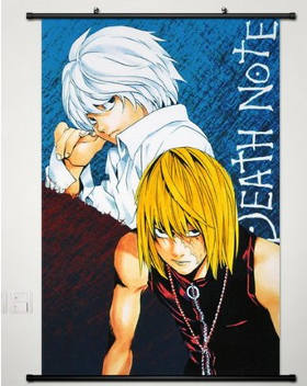 Death Note Near and Mello Poster