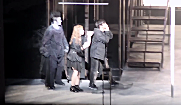 Death Note Musical cast final curtain call