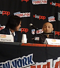 NYC Comic Con 2014 Takeshi Obata and Koji Yoshida
