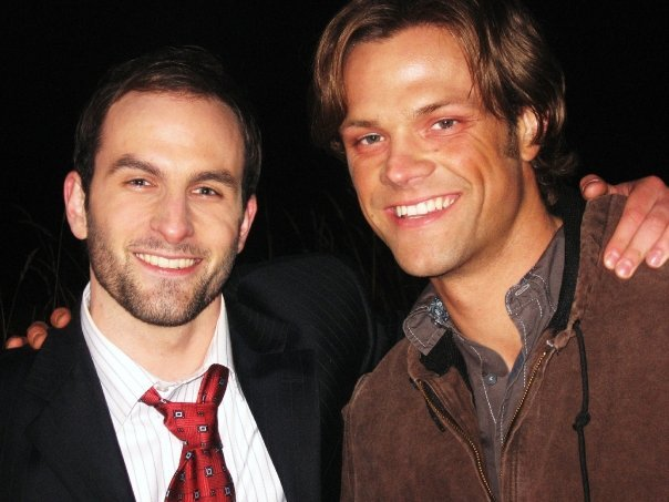 Drew Nelson and Jared Padalecki