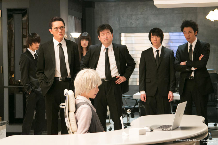 Near and Anti-Kira task force in Death Note TV drama